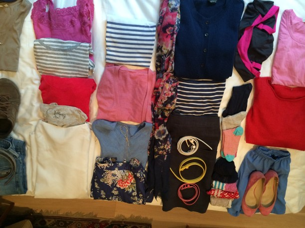 Four outfits and….
